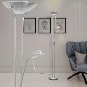 vidaXL Luminária de piso regulável com LED 23W