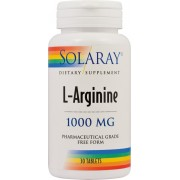 L-Arginine 1000 mg x 30 tablete Solaray Secom