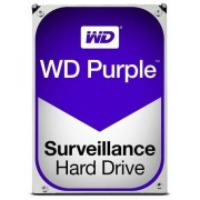 HDD Western Digital Purple, 6TB, SATA III 600, 64MB Buffer - dedicat sistemelor de supraveghere + Cablu S-ATA III 4World 08529, 457 mm