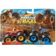 Hot Wheels Monster Trucks 1:64 Blister 2 Pz Mattel FYJ64
