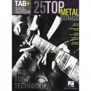 Hal Leonard Tab+: 25 Top Metal Songs - Tab. Tone. Technique.
