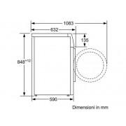Bosch Waw28549it Libera Installazione Carica Frontale 9kg 1400giri/min