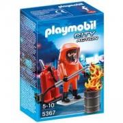Комплект Плеймобил 5367 - Пожарникари специални части, Playmobil, 291105