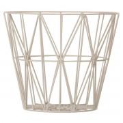 Ferm Living Wire Basket L Grijs