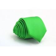 Pánská světle zelená slim kravata - 5 cm