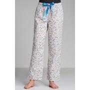 Womens Mia Lucce PJ Pant - Grey Print Sleepwear Nightwear