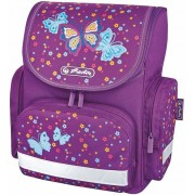 Ghiozdan ergonomic, neechipat, HERLITZ Mini Little Butterfly