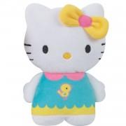 Jemini hello kitty knuffel portemonnee meisjes geel 15 cm