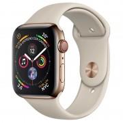 Apple Watch Series 4 GPS + Cellular 40mm Aço Inoxidável Dourado com Bracelete Desportiva Pedra