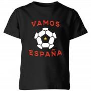 Football Camiseta Fútbol España Vamos España - Niño - Negro - 11-12 años - Negro