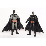 2pc/set Super Hero The Dark Knight Rises Batman Action Figure Toy Model 18cm