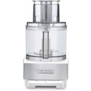 Cuisinart Custom 14 14-Cup Food Processor White and Stainless Steel 500 W Food Processor(Clear)