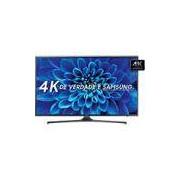 Smart TV LED 55 Samsung KU6000 Ultra HD 4K com Conversor Digital 2 USB 3 HDMI 60Hz