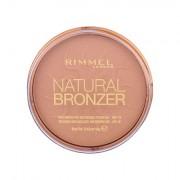 Rimmel London Natural Bronzer vodootporni bronzing puder 14 g nijansa 021 Sun Light
