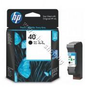 Касета HP 40, Black, p/n 51640AE - Оригинален HP консуматив - касета с глава и мастило