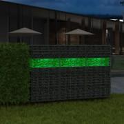 vidaXL Стъклени камъни за габион, зелени, 60-120 мм, 25 кг