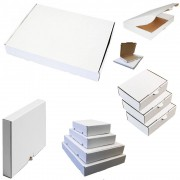 Maxibriefkarton 320x225x50 mm - Weiß