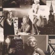 Galerie Marilyn Monroe Movie Scenes Icon Wallpaper Black and White