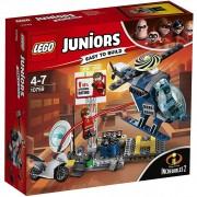 Lego juniors set mattoncini inseguimento sul tetto di elastigirl 10759