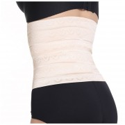 ER L / Soporte XL / XXL de la cintura Dieta cuerpo Delgado Shaper Recuperación post-parto Correa del corsé (Piel).