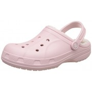 crocs Unisex Ralen Lined Clog Cotton Candy and Oatmeal Clogs and Mules - M4W6
