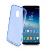 Cellular Line Cellularline Custodia per Galaxy S9 ultrasottile blu