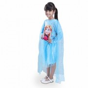 Fancydresswale Frozen Queen elsa Long Sleeve Blue Costume with Attached Cape