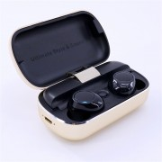 S8 Mini Sports Earphone Wireless Stereo Earbud Bluetooth 5.0 Headset with Charging Box - Gold