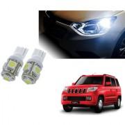 Auto Addict Car T10 5 SMD Headlight LED Bulb for Headlights Parking Light Number Plate Light Indicator Light For Mahindra TUV-300