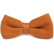 Suitable Knitted Smoking Fliege Orange - Orange