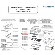 Campingaz Warming grid for 3 - 4 Series barbecues