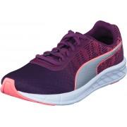 Puma Comet Jr Nrgy Peach-dark Purple, Skor, Sneakers & Sportskor, Löparskor, Blå, Lila, Barn, 39