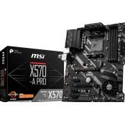 MSI X570-A PRO - Moederbord - ATX - Socket AM4 - AMD X570 - USB-C Gen2, USB 3.2 Gen 1, USB 3.2 Gen 2 - Gigabit LAN