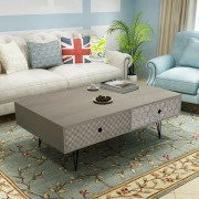 vidaXL Coffee Table 100x60x35 cm Grey