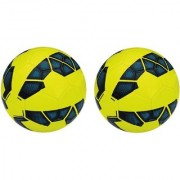 Premier League Yellow/Blue Football (Size-5) - Pack of 2 Footballs