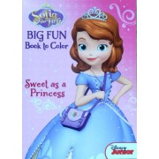 """Disneys Sofia the First Coloring Book """"Sweet As a Princess"""""""