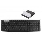 Клавиатура Logitech K375s Wireless Multi-Device Keyboard & Stand Black 920-008184