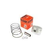 Pistão Kit C/ Anéis Kmp Honda Xlx250 Std / 72mm