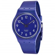 Color Codes Up-Wind Blue Plastic Unisex Watch