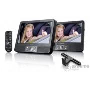 DVD player Lenco MES-405 2 x 9 inchi multimedia