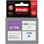Cartus ac-lc123 compatibil Brother lc-123c 10 ml Cyan