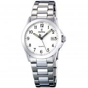 Reloj F16377/1 Plateado Festina Mujer Acero Clasico Festina