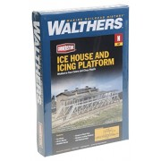 Walthers Ice House & Icing Platform Kit N