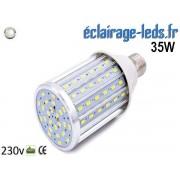 Ampoule LED E27 maïs 35W Blanc naturel 230v ref e27-05