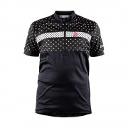 craft Maillots Craft Bike Jersey Black / White / Black