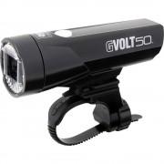 Prednje svjetlo za bicikl Cateye GVOLT50 HL-EL550G-RC LED (jednobojna) pogon na punjivu bateriju Crna