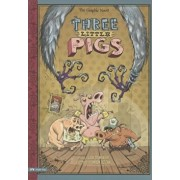 The Three Little Pigs: The Graphic Novel, Paperback/Lisa Trumbauer