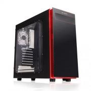 Caja Sobremesa In Win Gaming 703 Black / red. ATX , USB 3.0, Sin Fuente