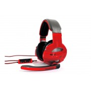HEADPHONES, Gamdias HEBE, Wired, Gaming Headset, Black/Red, 3.5mm 3pin (GHS2300)
