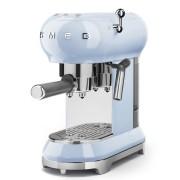 SMEG ECF01PBEU szabadonálló rusztikus kávéfőző - világoskék